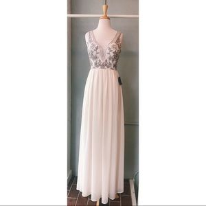 Long Ivory Gown